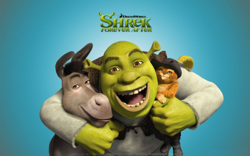 Shrek Cartoons wallpaper