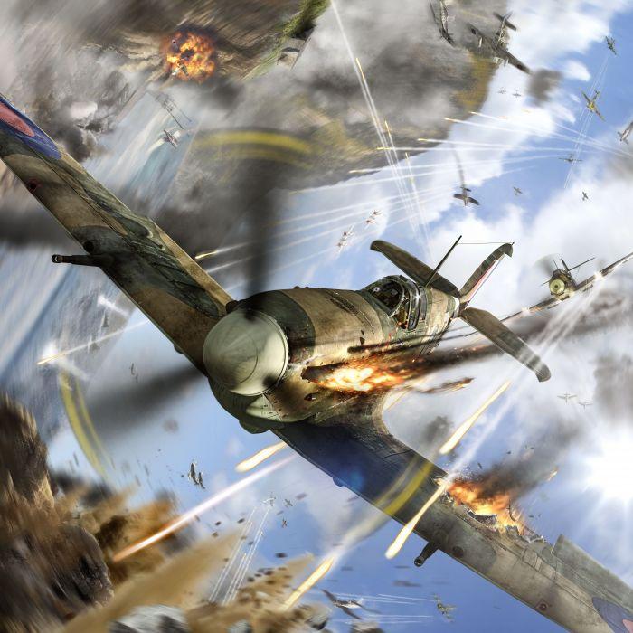 World of Warplanes Airplane Spitfire Firing Games Aviation wallpaper