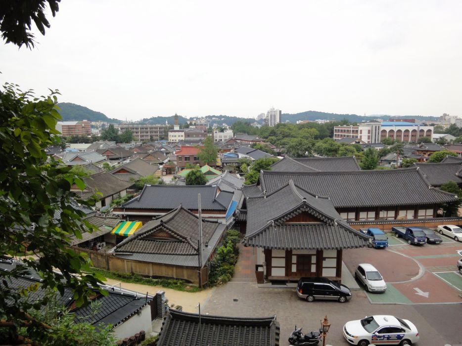Jeonju ciudad corea sur asia wallpaper