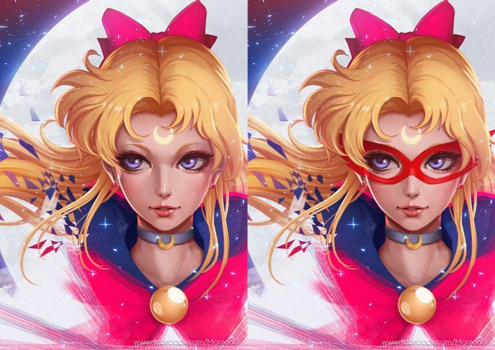 aino minako venus bishoujo senshi sailor moon anime series character beauty girl dress long hair wallpaper