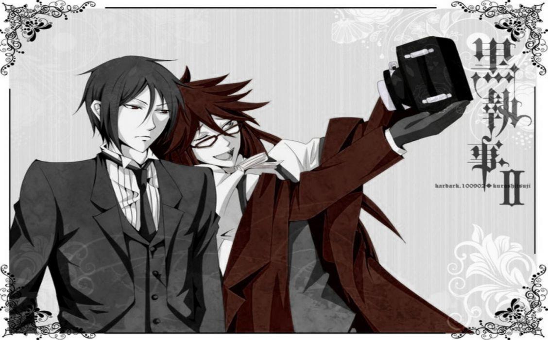 Blackbutler Grell Sebastin Anime Wallpaper 1450x900