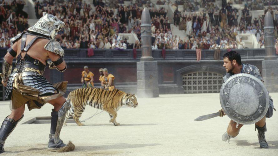 pelicula historia gladiator accion wallpaper