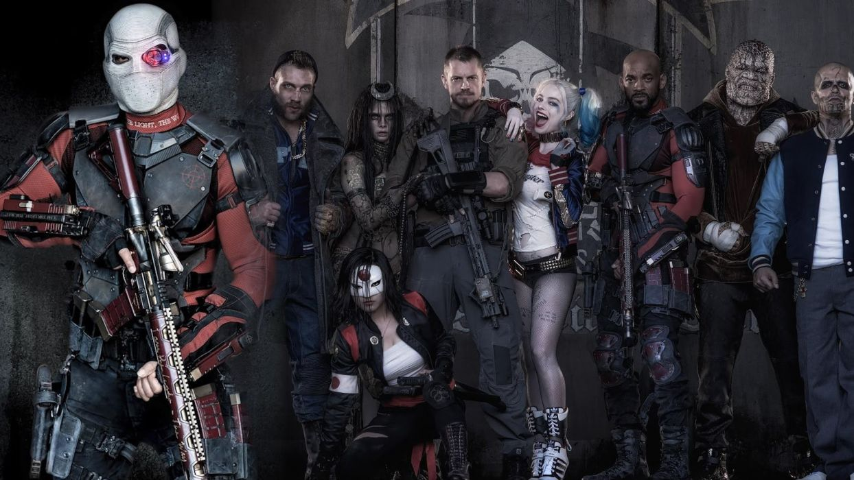 Movie Suicide Squad Dead Shot Will Smith Harley Quinn Margot