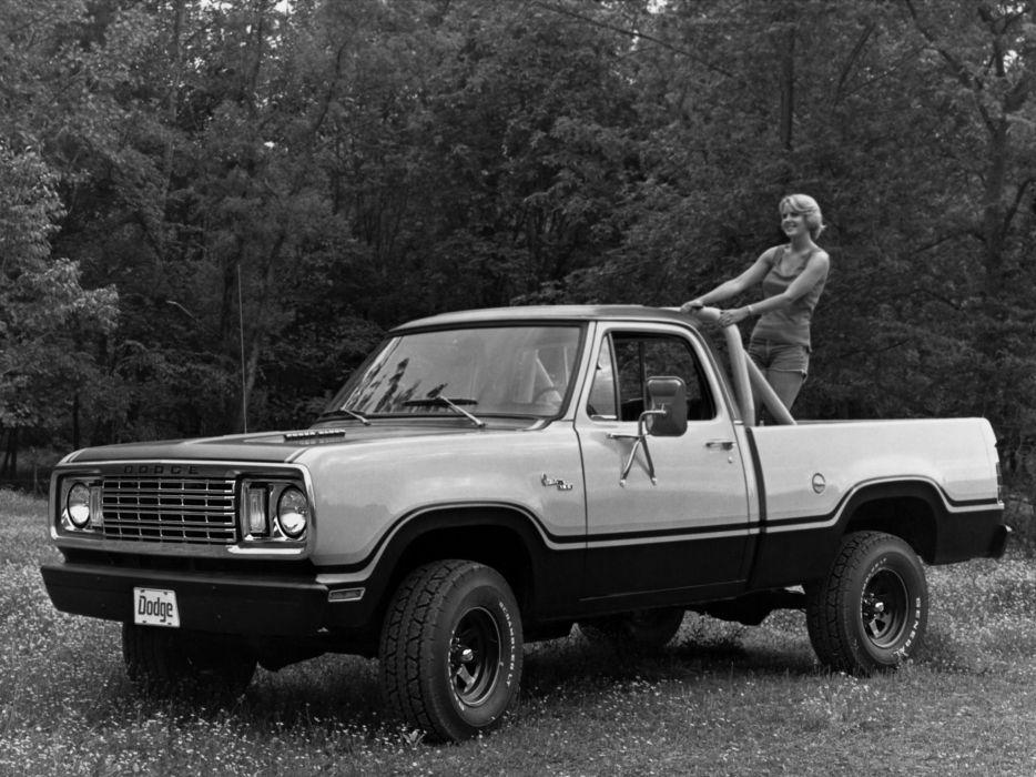 Dodge W150 Power Wagon Sweptline Macho Pkg 1978 wallpaper