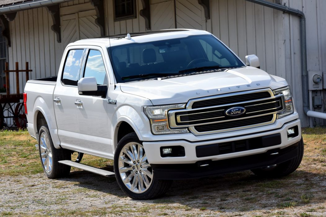 Ford F-150 Limited SuperCrew 2018 wallpaper