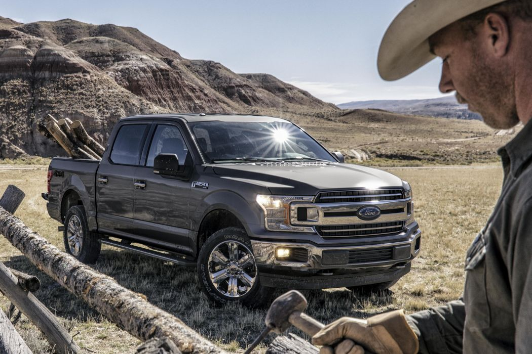 Ford F-150 XLT SuperCrew Chrome Appearance Package 2018 wallpaper