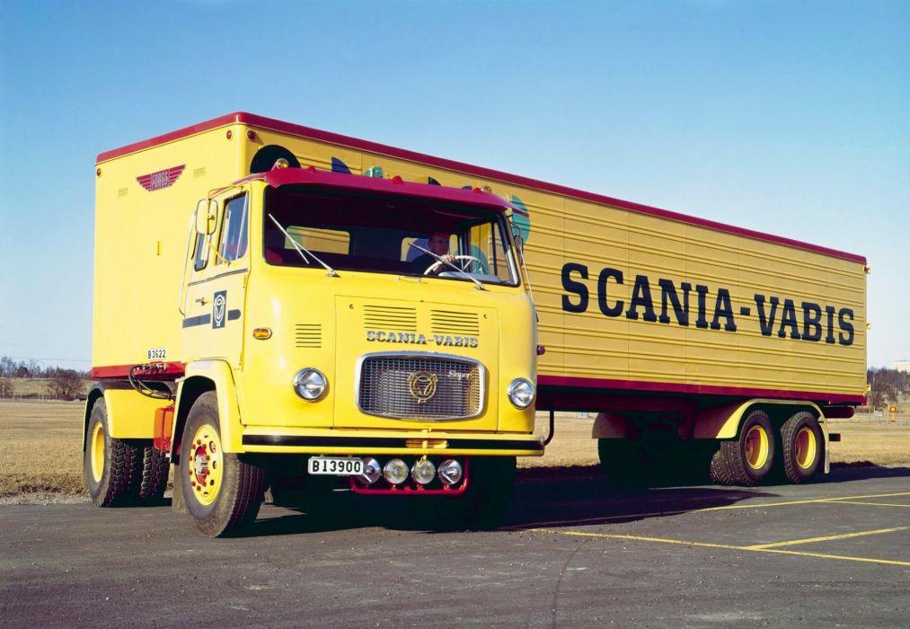 Scania-Vabis LBS76-34S 1963 wallpaper