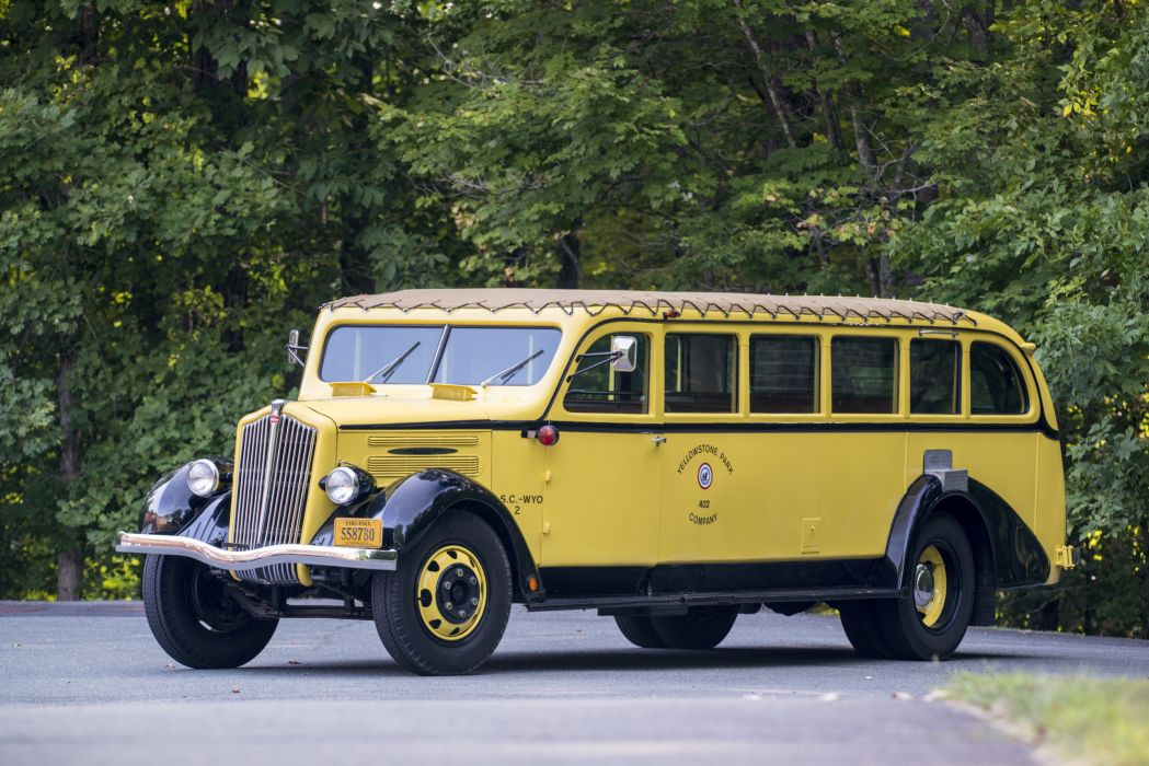 White Model 706 Tour Bus 1937 wallpaper