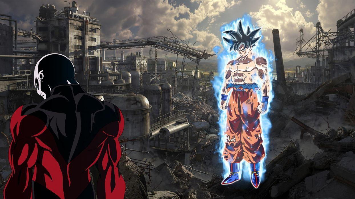 Goku & Jiren wallpaper | 1920x1080 | 1101242 | WallpaperUP