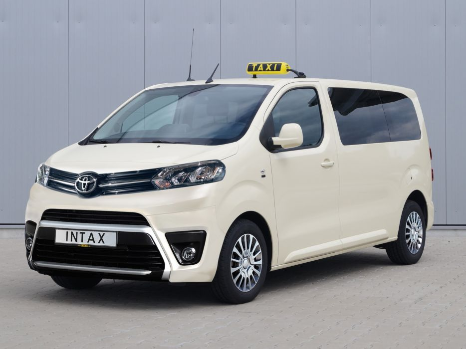 Toyota ProAce Verso Taxi 2016 wallpaper