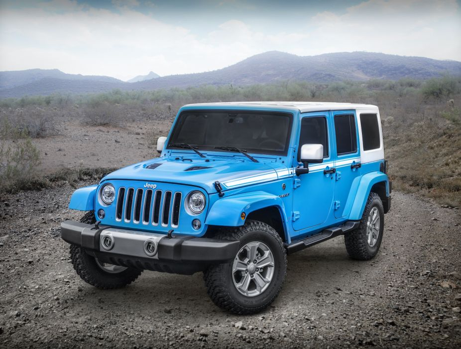Jeep Wrangler Unlimited Chief 2017 wallpaper