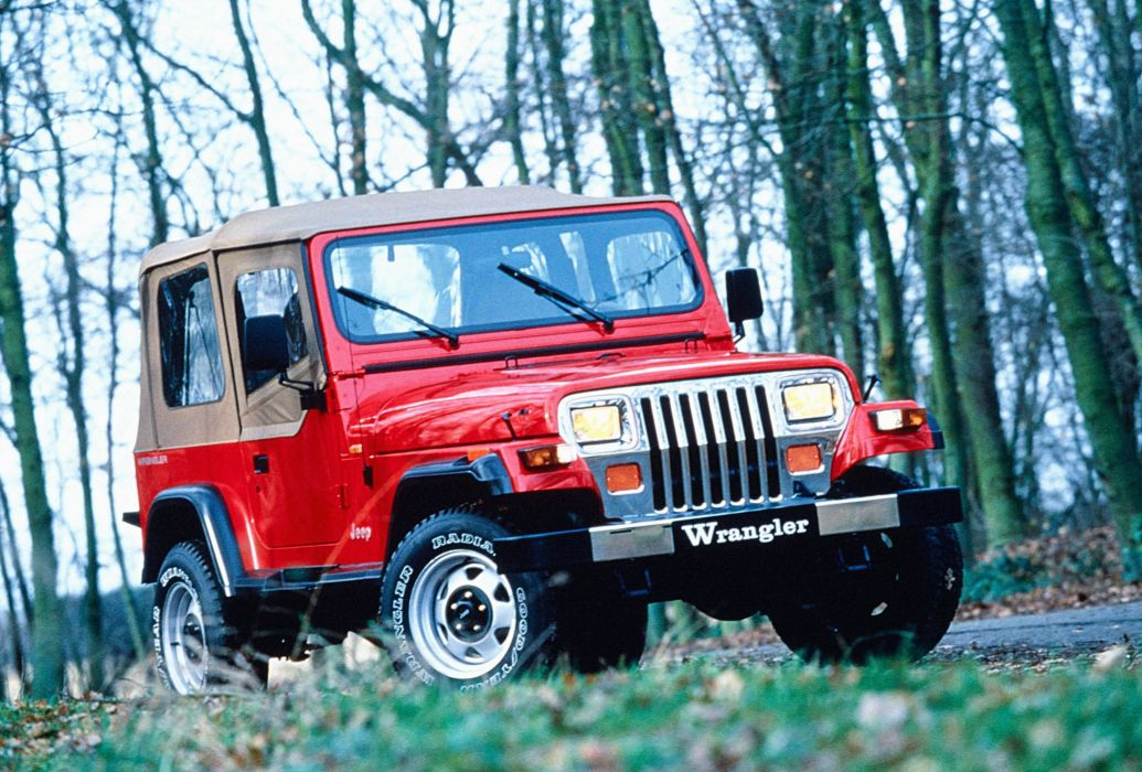 Jeep Wrangler 1987 wallpaper