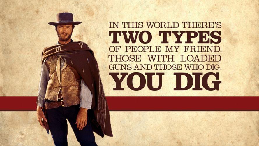 good bad ugly western movie clint eastwood 1goodbu wallpaper