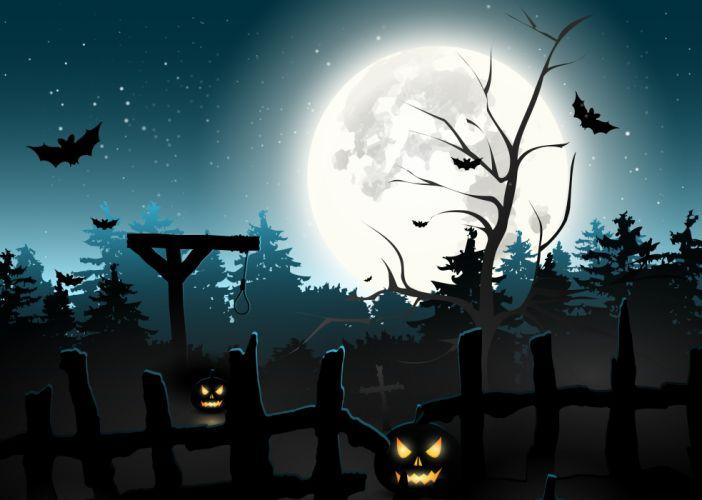 halloween holiday spooky wallpaper