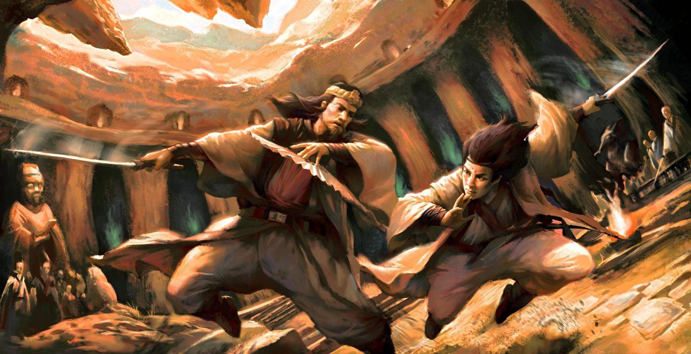 warrior fantasy wallpaper