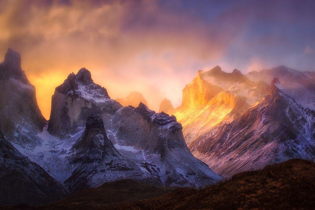 mountain landscape nature wallpaper