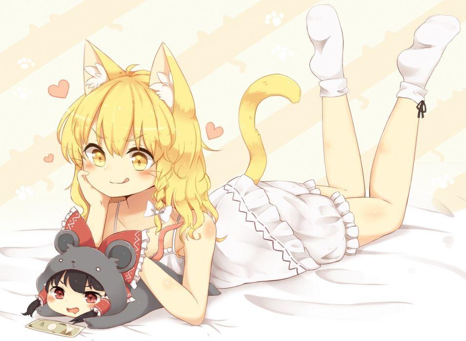 Anime Cat Girl Hair