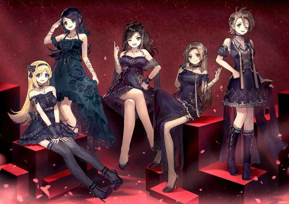Konachan com - 248385 ainy77 fujimoto rina goth-loli group idolmaster idolmaster cinderella girls lolita fashion tagme (character) wallpaper
