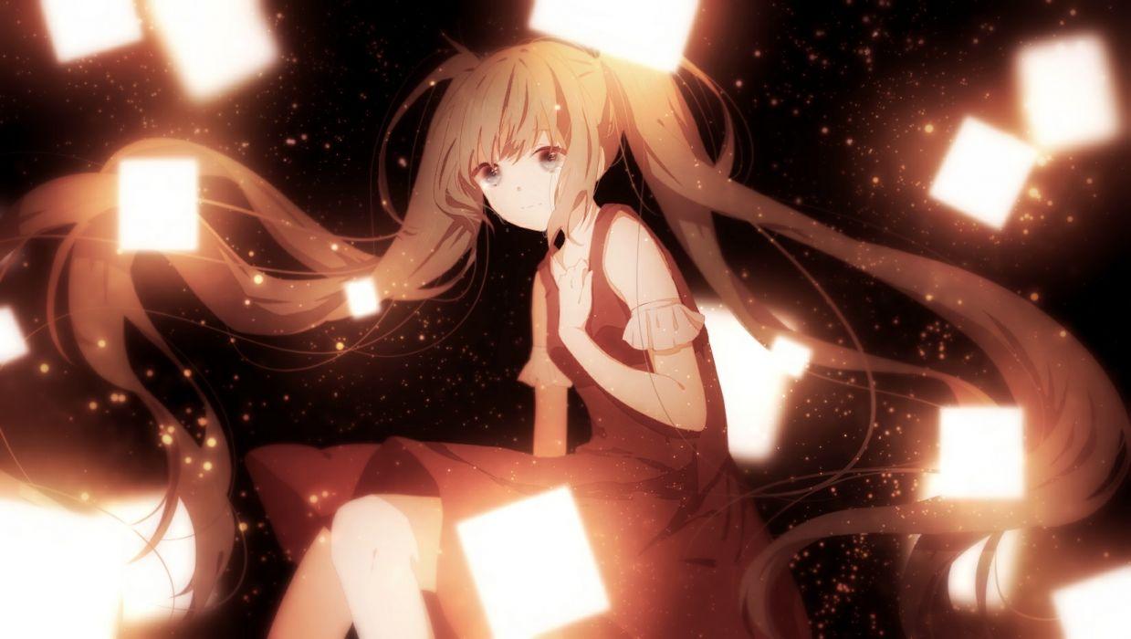 Konachan com - 247692 hatsune miku long hair polychromatic tagme (artist) twintails vocaloid wallpaper