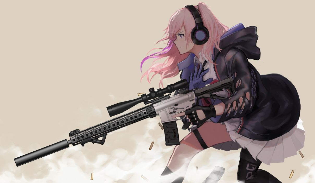 Konachan com - 243663 anthropomorphism ar-15 (girls frontline) girls frontline wu lun wujin wallpaper