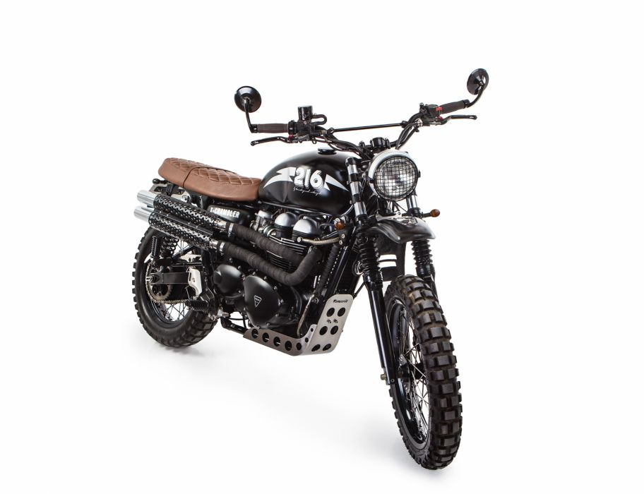 Triumph X-Scrambler Number 216 2013 wallpaper