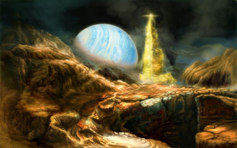 sci-fi futuristic science fiction technics wallpaper