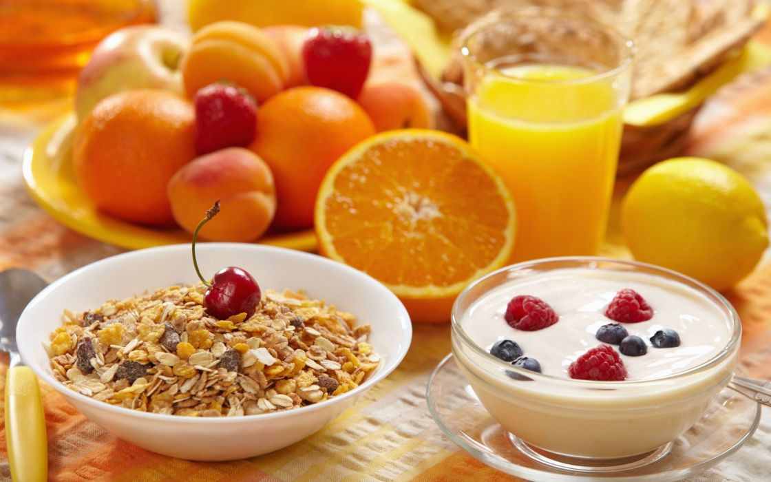 Breakfast food meal morning still life wallpaper