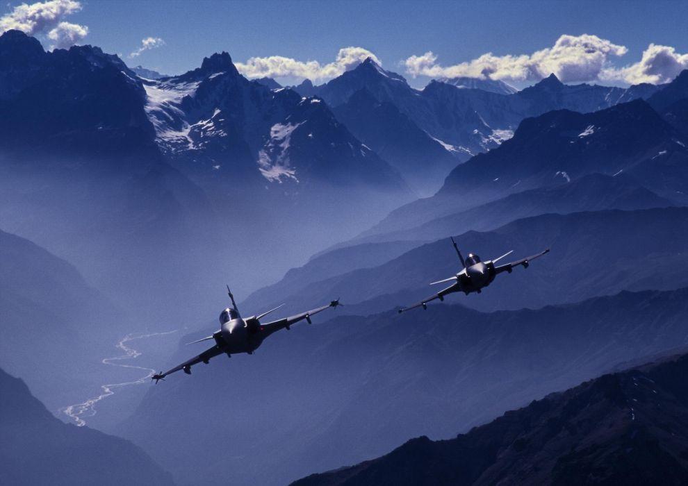 jet fighter airplane aircraft military plane warplane war wallpaper