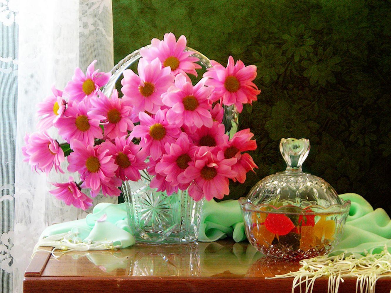 очистить фото цветов букетов на хорошего настроения теплиц немного