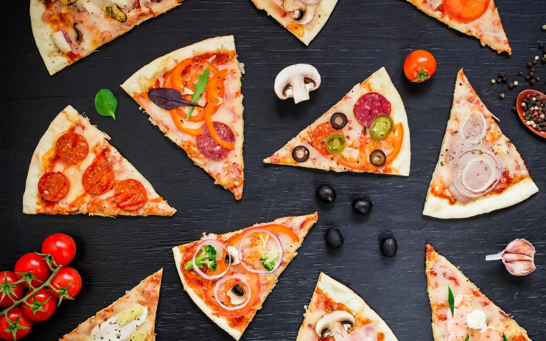 pizza food meal pie still life cheese bread meat wallpaper