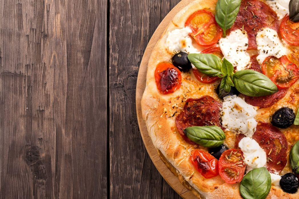 pizza food meal pie still life wallpaper