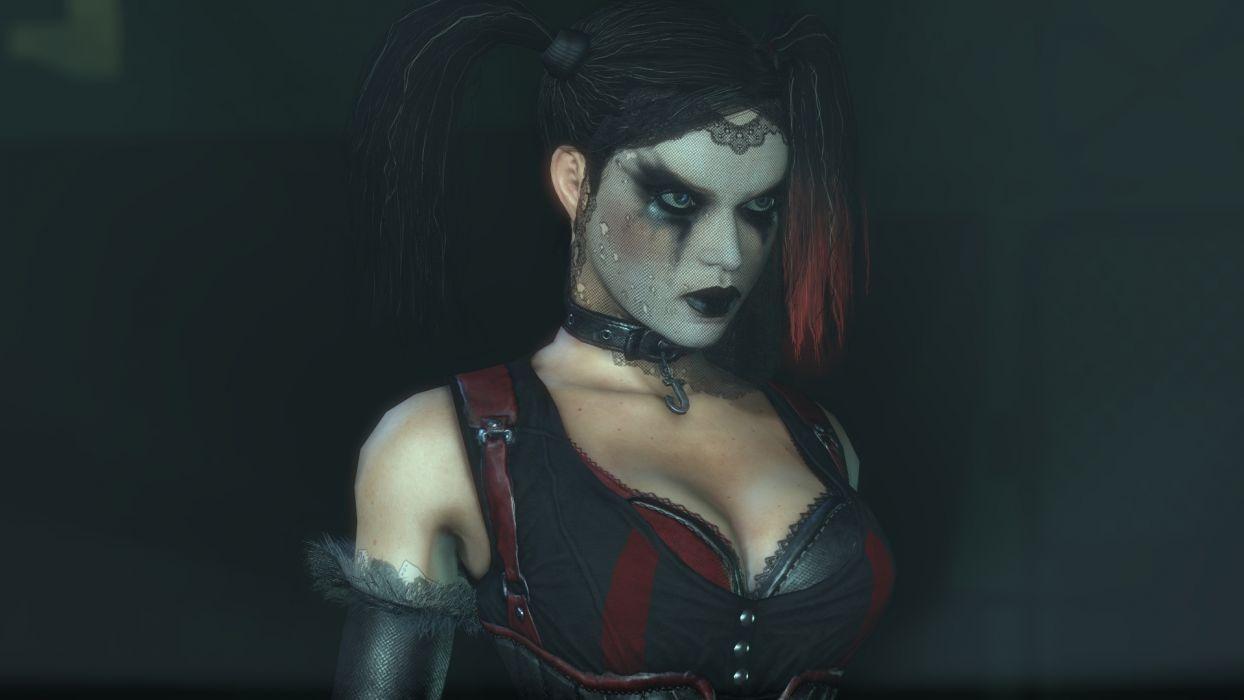 Artwork Dc Comics Batman Arkham City Harley Quinn Face Wallpaper