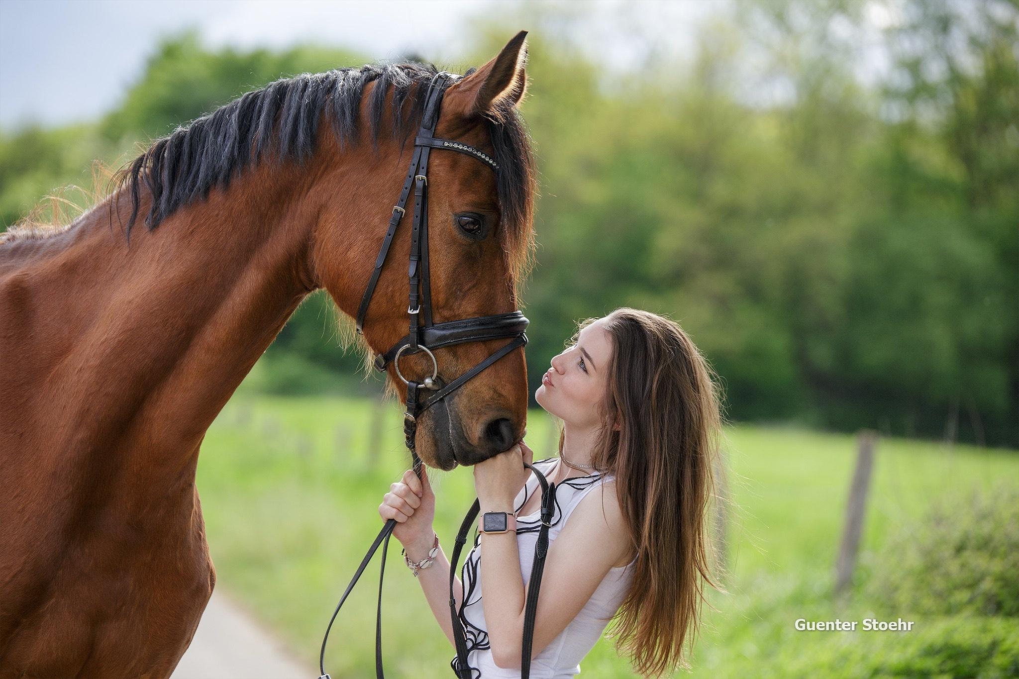 девушка лошади  № 1818964 без смс