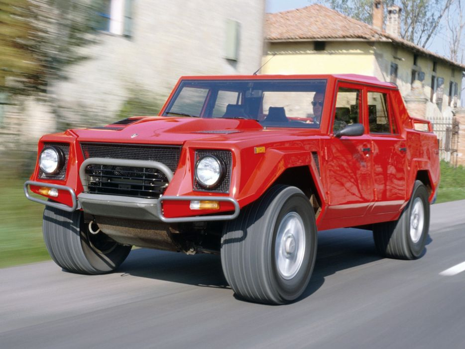 1990 Lamborghini Lm002 Supercar Car Vehicle Auto Automobile Suv