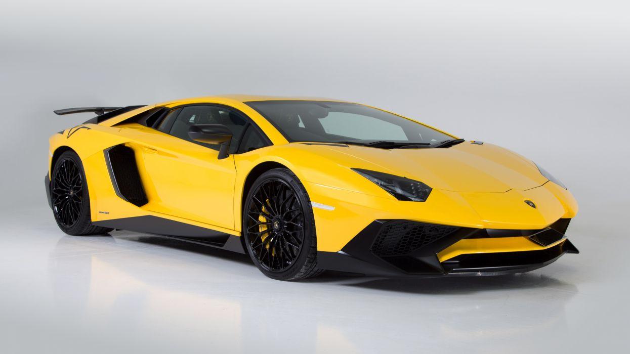 2017 Lamborghini Aventador LP750-4 Superveloce UK-spec supercar car vehicle auto automobile wallpaper