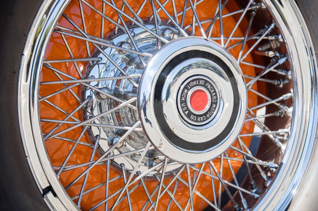 1930 Packard Deluxe Eight Convertible Victoria 745 vintage auto automobile vehicle car luxury retro wallpaper