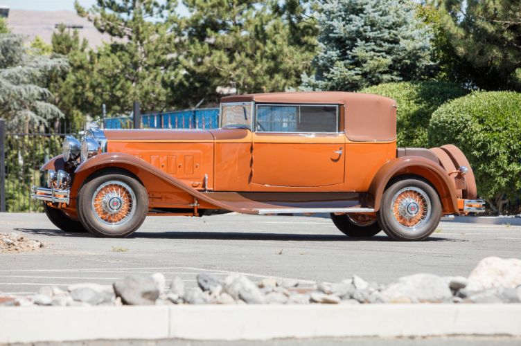 1930 Packard Deluxe Eight Convertible Victoria 745 vintage auto automobile vehicle car luxury retro wallpaper