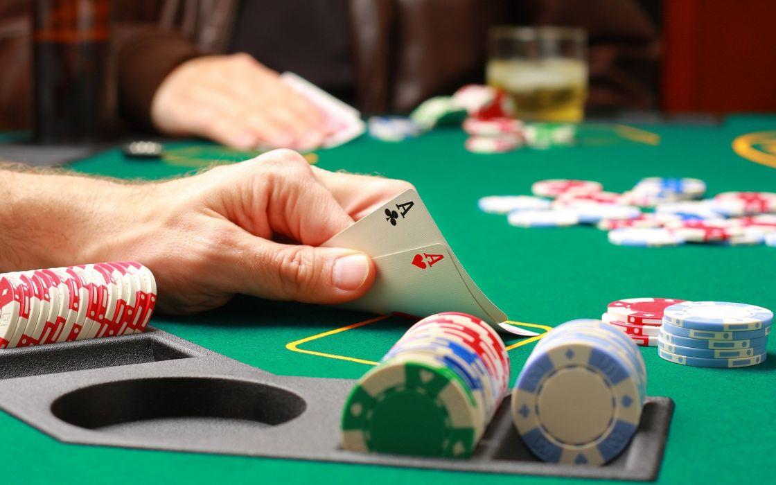 casinos poker clasico juego naipes wallpaper