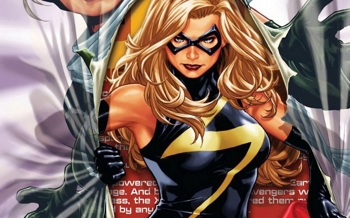 carol danvers heroina comics wallpaper