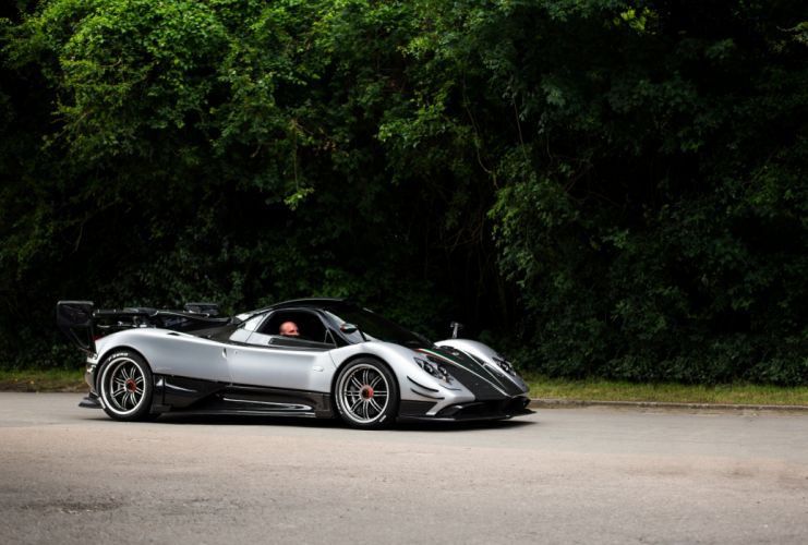 Pagani Zonda 760 Oliver Evolution 2017 wallpaper