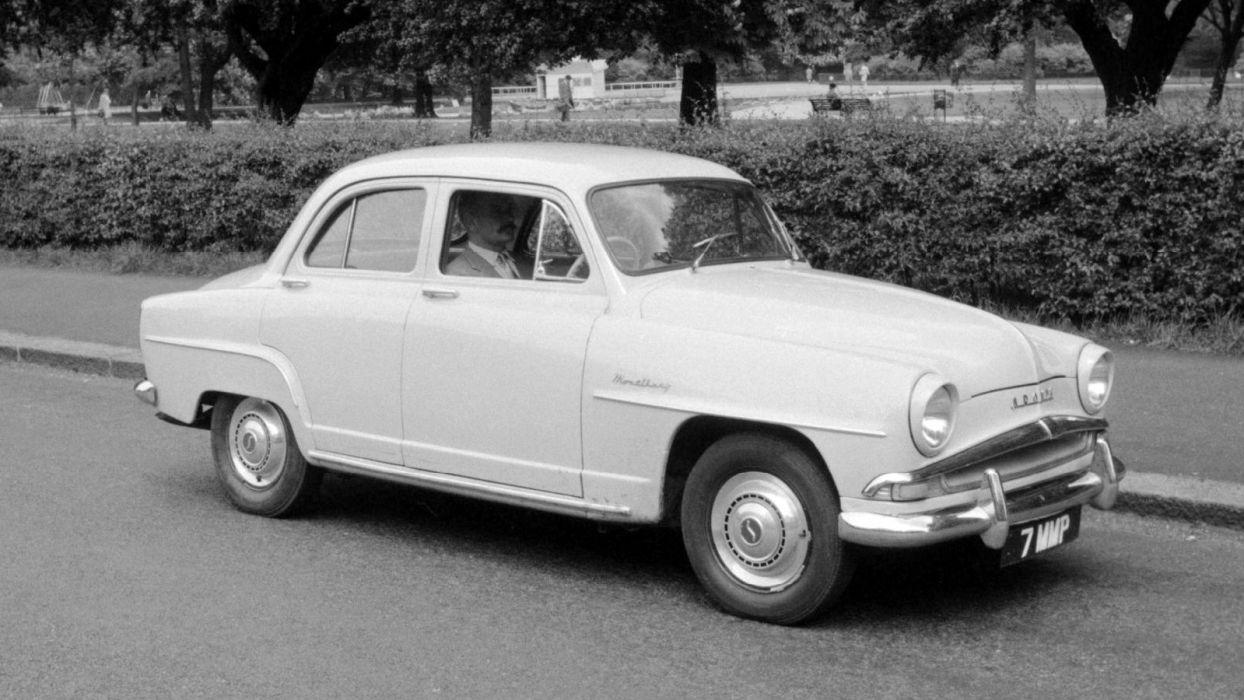 Simca Aronde Elysee 1955 wallpaper