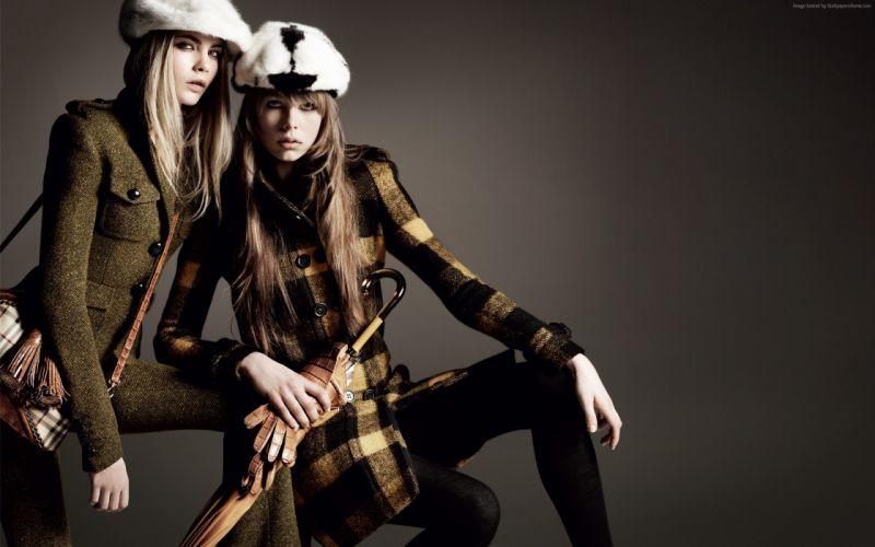 girls Cara Delevingne Fashion wallpaper