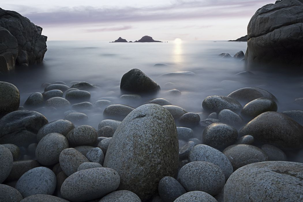 Rocks Stones Sea Sky Nature wallpaper