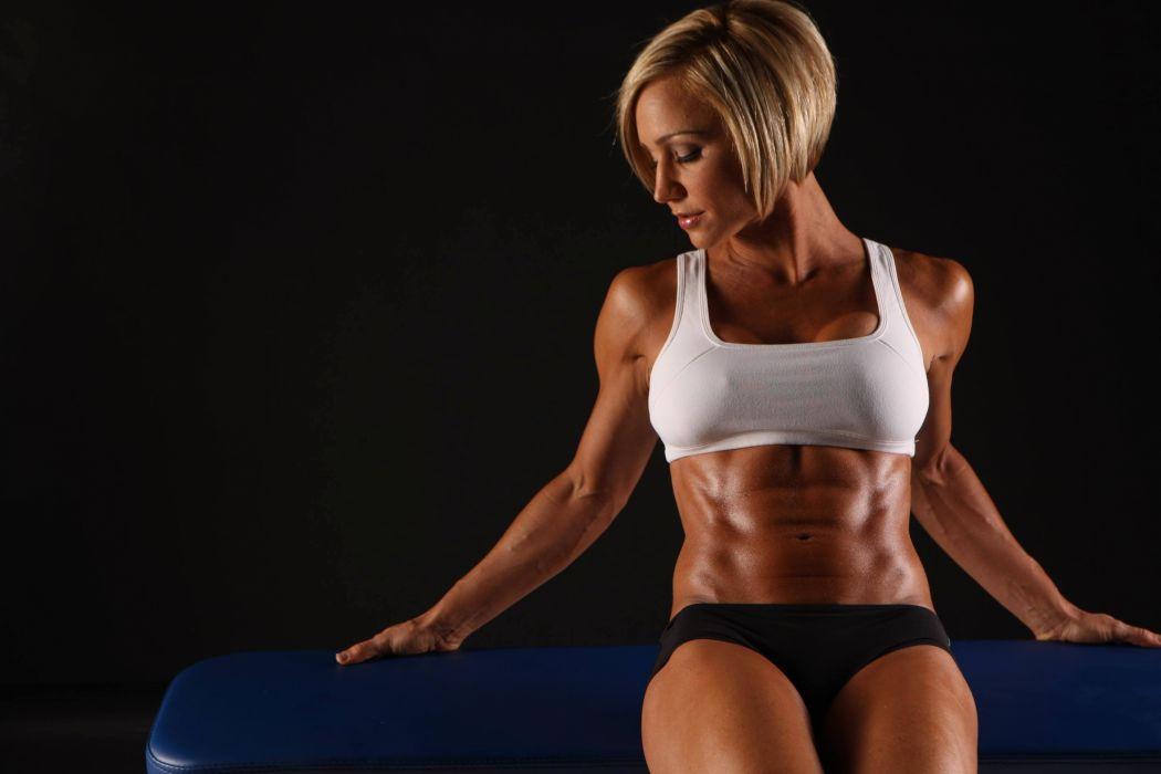 Sport sensuality sensual sexy girl woman model body fitness workout sportswear belly abs navel gym sweat sweaty skinny Jamie-Eason shorsr wallpaper