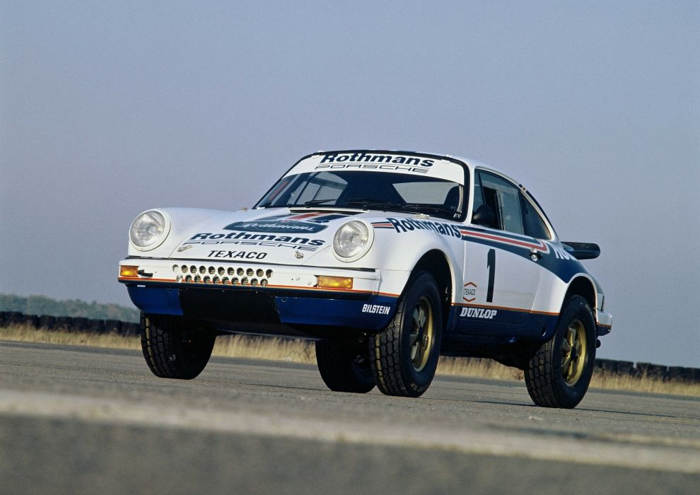 Porsche 911 Carrera 3 2 4x4 Paris-Dakar 953 1983 Rally Car wallpaper