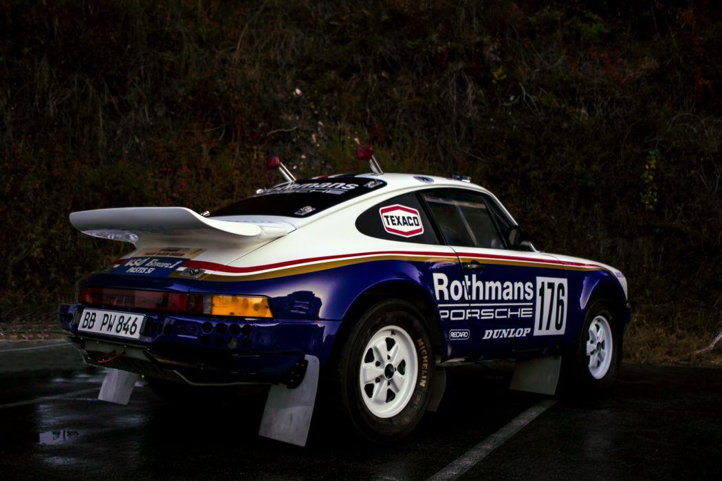 Porsche 911 Carrera 3 2 4x4 Paris-Dakar 953 1983 Rally Car wallpaper