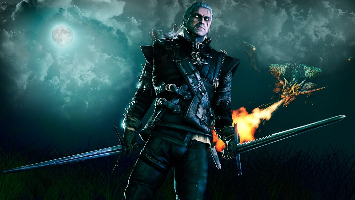 Witcher fantasy xbox warrior action videogame game video adventure wallpaper