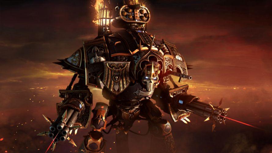 warhammer 40k fantasy fighting action warrior sci-fi futuristic fiction space marines wallpaper