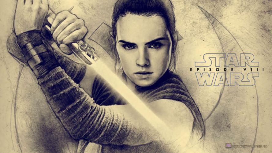 Star Wars Episode VIII Last Jedi 1ste1lj futuristic sci-fi technics fiction movie film 1stlj wallpaper