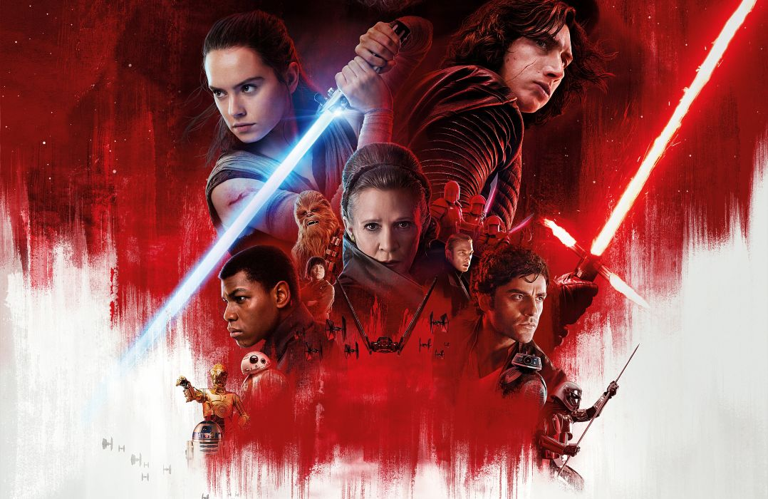 Star Wars Episode VIII Last Jedi 1ste1lj futuristic sci-fi technics fiction movie film 1stlj wallpaper
